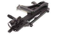 Modern assault rifle Stock Photo