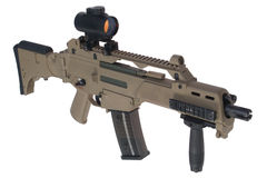 Modern assault rifle Royalty Free Stock Image