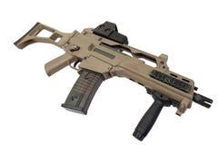 Modern assault rifle Royalty Free Stock Photo