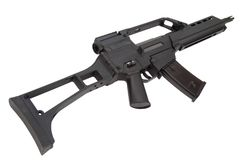 Modern assault rifle Stock Image