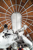 Modern astronomy telescope in an astronomical observatory. Modern astronomy telescope in an astronomical observatory, UJ, Krakow, Poland Royalty Free Stock Photo