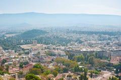 Modern Athene royalty-vrije stock afbeelding