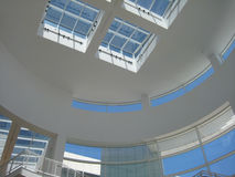 Modern Atrium Architecture at the Getty Center 2 Royalty Free Stock Photos