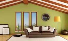 Modern attic Royalty Free Stock Photography