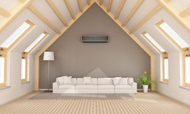 Modern attic Royalty Free Stock Images