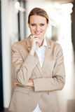 Modern attractive businesswoman Royalty Free Stock Photo