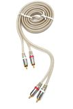 Modern audio cable Royalty Free Stock Photos