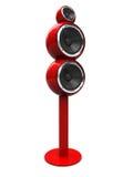 Modern audio speaker Royalty Free Stock Photo