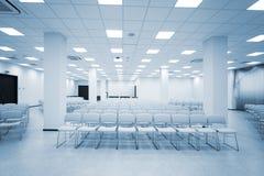 Modern auditorium stock image
