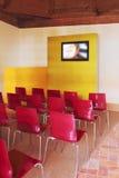 Modern auditorium, presentation Stock Image