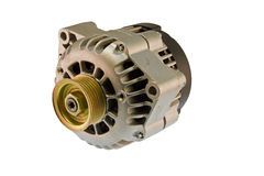 Modern auto alternator Stock Images