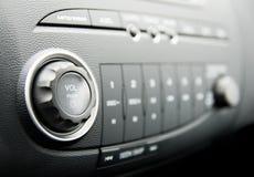 Modern auto audiosysteem Stock Foto