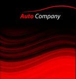 Modern auto company logo design concept Royalty Free Stock Image