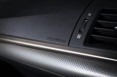 Modern autodashboard Royalty-vrije Stock Afbeelding