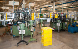 Modern automated factory plant Stock Photos