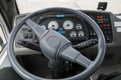 Modern automobile dashboard closeup Royalty Free Stock Photography