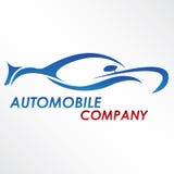 Modern automobile logo. A modern, shiny car logo Vector Illustration