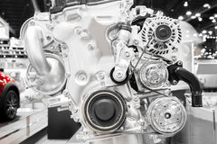 Modern automotive car engine part. S Royalty Free Stock Photography