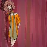 Modern autumn fashion background Royalty Free Stock Photo