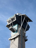 Modern Aviation Watch Tower Royalty Free Stock Photos