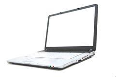 modern bärbar dator royaltyfri foto