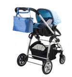 A modern baby-buggy Royalty Free Stock Photography