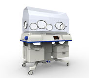 Modern Baby Incubator Hospital Equipment Royalty Free Stock Images