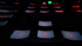 Free Modern Back-lit Gaming Computer Keyboard Royalty Free Stock Photo - 74436255