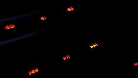 Modern back-lit gaming computer keyboard Stock Images