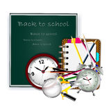 Modern Back to school background Royalty Free Stock Image