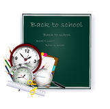 Modern Back to school background Royalty Free Stock Images