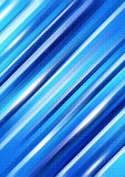 Modern background. Blue modern design of abstrac background Stock Photography