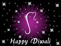 Modern background for diwali Royalty Free Stock Photos