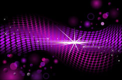 Modern background with dots Royalty Free Stock Photos