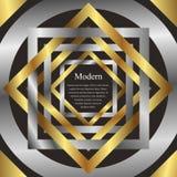 Modern background with interlacing Imagen de archivo libre de regalías