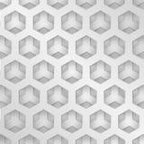Modern background metal texture, hexagonal grid shape Stock Image