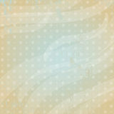 Modern  background with polca dot, vector Royalty Free Stock Photos