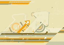 Modern background,vector. Modern  background with many arrows,vector illustration Royalty Free Stock Photo