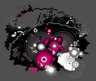 Modern background, vector Royalty Free Stock Images