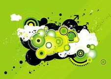 Modern background, vector Royalty Free Stock Image