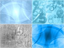 Modern backgrounds collection Royalty Free Stock Image