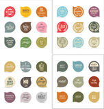 Modern badges collection. Modern badges and labels collection Stock Image