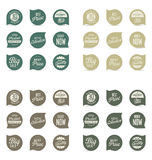 Modern badges collection. Modern badges and labels collection Stock Photography