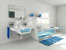 modern badrum Arkivfoto