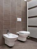 modern badrum arkivbilder