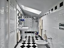 Modern badrum Royaltyfri Foto