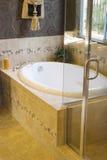 modern badrum royaltyfria bilder