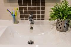 modern badrum Arkivbild