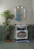 Modern badruminre arkivbild