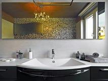 Modern bahtroom Stock Photos